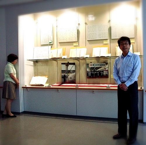 栃木県公文書から見る≪東北新幹線 建設・開業≫ギャラリートーク!①