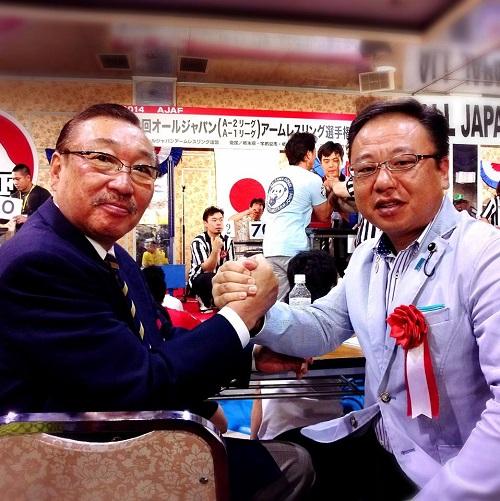 第13回 オールジャパンアームレスリング選手権大会≪開会式≫へ!③