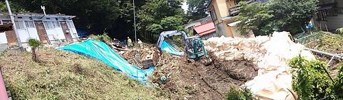6月16日~17日における大雨による被害状況<現地調査>!①