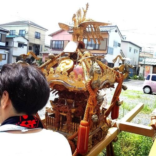 須賀神社<天王祭>神輿渡御!②