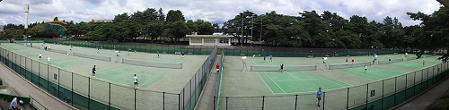 ≪宇都宮クラブ対抗テニス大会≫開会式!初日(男子4部/女子)③
