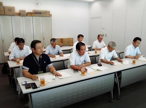 栃木県交通運輸産業労働組合協議会≪栃木県への要請行動≫に同席!