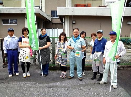 田原中PTA&地域協議会<奉仕活動>へ!