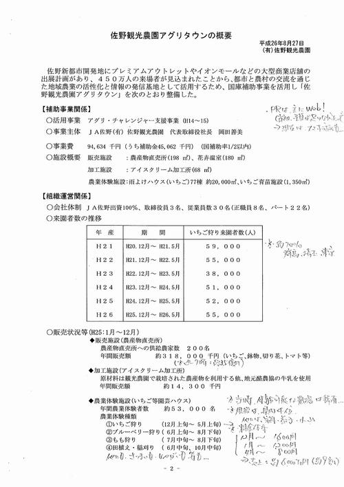 20140827【文書】栃木県議会 農林環境委員会<県内調査>11(有)佐野観光農園01
