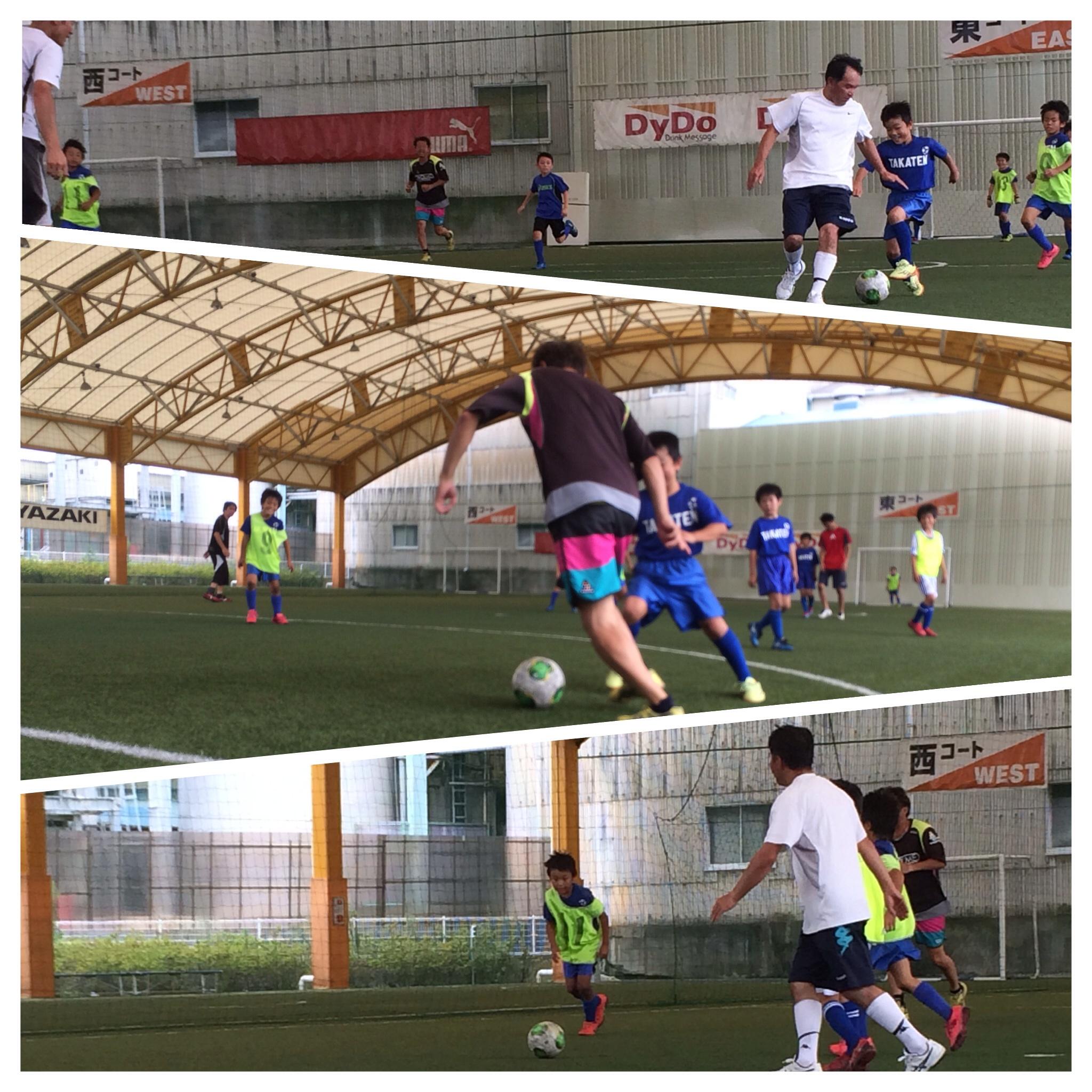 親子サッカー2