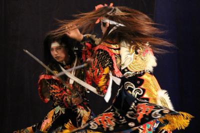吉田神楽団 滝夜叉姫1