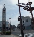 康生通りの記念碑