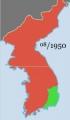 2014-2-14朝鮮戦争の戦線8月