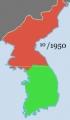 2014-2-14朝鮮戦争の戦線10月
