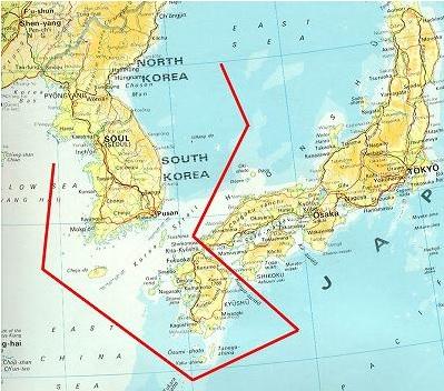 2014-2-16李承晩ライン含む九州