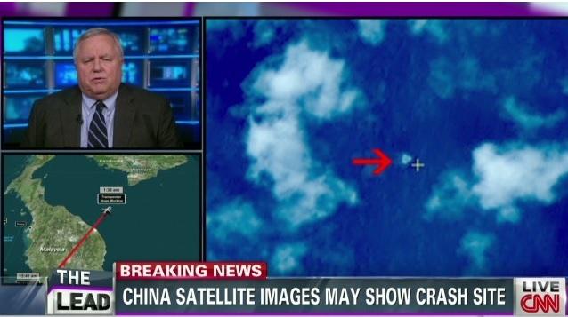 2014-3-13マレーシア機失踪のCNN報道
