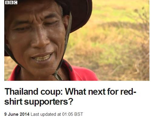 2014-6-9BBCのタイの赤シャツ報道1