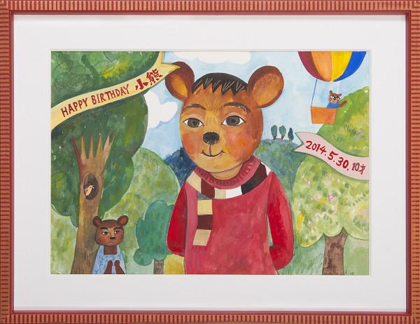 140530-小熊の肖像画
