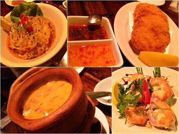 Thai dinner AJ