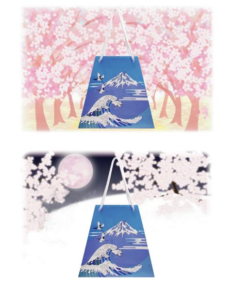 富士山4Cと桜0402