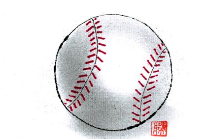 野球ボール0729