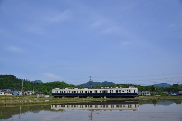 2014年5月24日 上田電鉄別所線 八木沢~舞田 7200系7255F