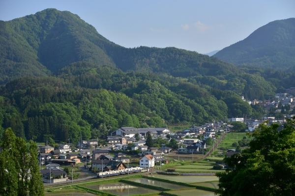 2014年5月31日 上田電鉄別所線 別所温泉~八木沢 7200系7255F