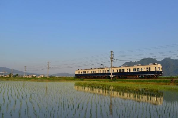 2014年5月31日 上田電鉄別所線 舞田~八木沢 7200系7255F