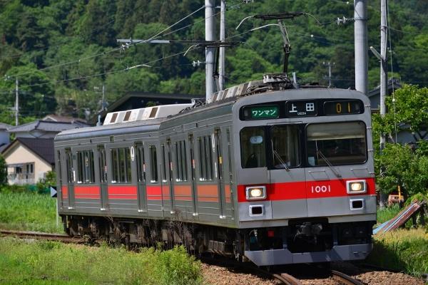 2014年6月14日 2014年6月14日 上田電鉄別所線 別所温泉~八木沢 1000系1001F