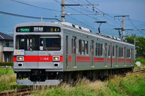 2014年7月20日 上田電鉄別所線 三好町~赤坂上 1000系1004F