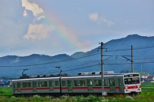 2014年7月20日 上田電鉄別所線 下之郷~中塩田 1000系1004F