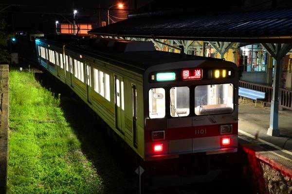 2014年7月26日 上田電鉄別所線 別所温泉 1000系1001F