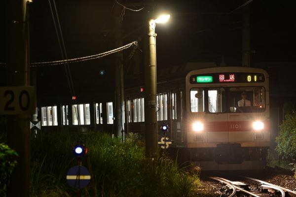 2014年7月26日 上田電鉄別所線 下之郷 1000系1001F