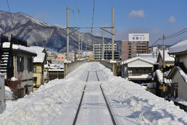 2014年2月16日 上田電鉄別所線 上田~城下