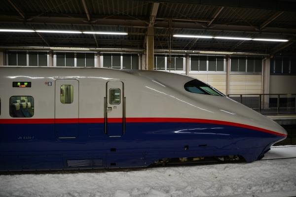 2013年2月16日 JR東日本長野新幹線 上田 E2系N1編成