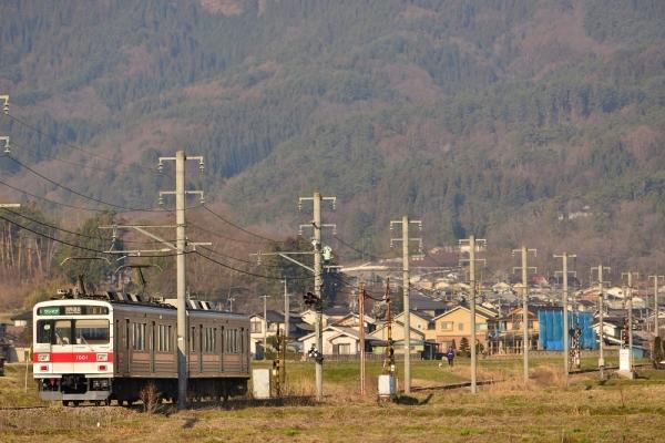 2014年4月15日 上田電鉄別所線 舞田~八木沢 1000系1001F