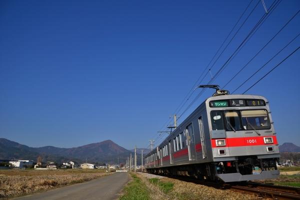 2014年4月15日 上田電鉄別所線 舞田~中野 1000系1001F