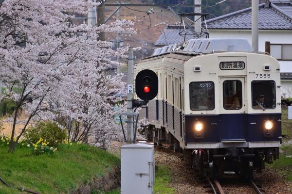 2014年4月20日 上田電鉄別所線 別所温泉7200系7255F