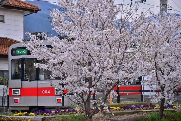 2014年4月20日 上田電鉄別所線 中野1000系1004F