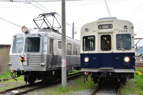 2014年5月5日 上田電鉄別所線 下之郷 5251号車・7200系7255F