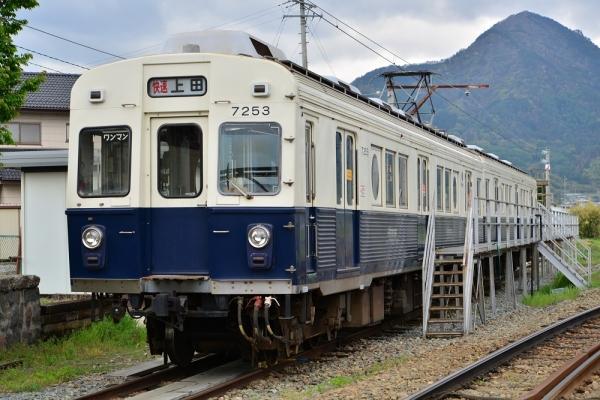 2014年5月5日 上田電鉄別所線 下之郷 7200系7253F