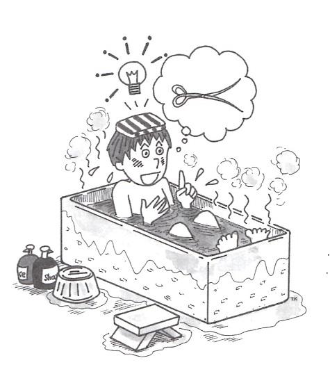 南江堂出版「医学研究者・企業のための特許出願Q&A」の中身より イラスト