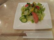 カツカレーサラダ