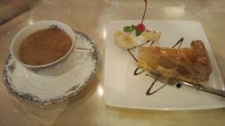 アップルパイ ケーキセット