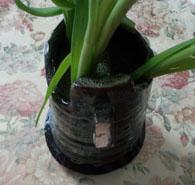 かけた花瓶