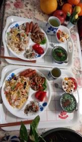 お昼ご飯 春の蕗寿司