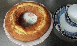簡単林檎パウンドケーキ