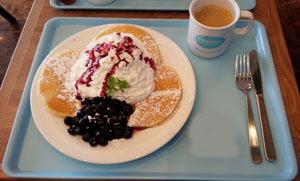 Hawaiian パンケーキ ブルーベリー