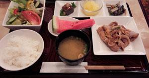 フォレランチ 豚の生姜焼き