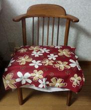 椅子補修しました3