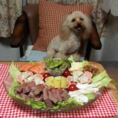 Nonnon 7歳 お祝いご飯