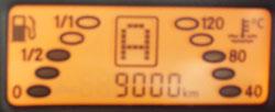 スマート走行距離 9000km