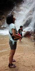 涼 滝しぶき5