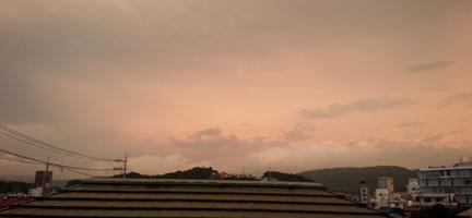 朝の空 5:30
