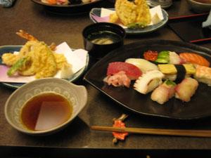 磯春でお昼ご飯 お寿司